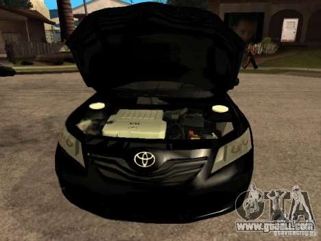 Toyota Camry 2010 for GTA San Andreas right view