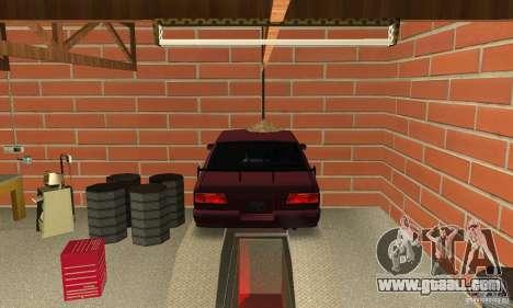 Johnsons Business (Johnsons Auto Service) for GTA San Andreas third screenshot