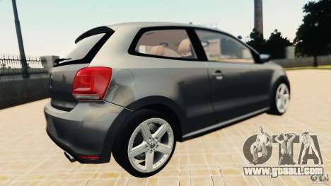 Volkswagen Polo v2.0 for GTA 4 right view