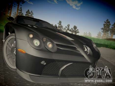Mercedes-Benz SLR 722 Custom Edition for GTA San Andreas right view