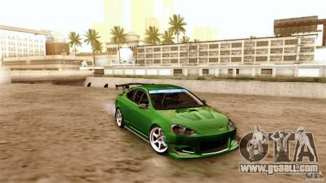 Acura RSX Spoon Sports for GTA San Andreas upper view