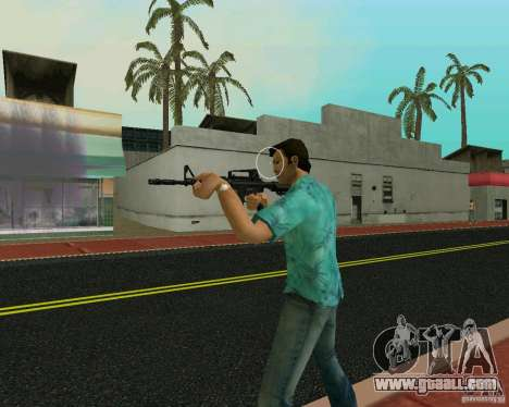 M4A1 for GTA Vice City forth screenshot