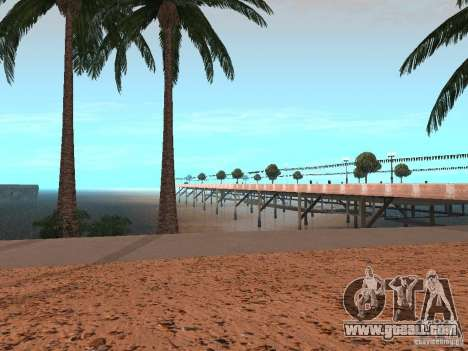 HQ Beach v1.0 for GTA San Andreas third screenshot