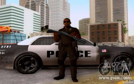 A police officer from CoD: BO2 for GTA San Andreas