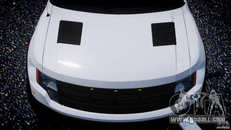 Ford F150 SVT Raptor 2011 for GTA 4 engine