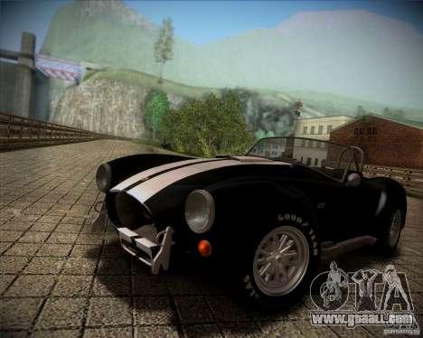 Shelby Cobra 427 Full Tunable for GTA San Andreas
