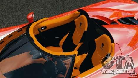 Koenigsegg CCX 2006 v1.0 [EPM][RIV] for GTA 4 upper view