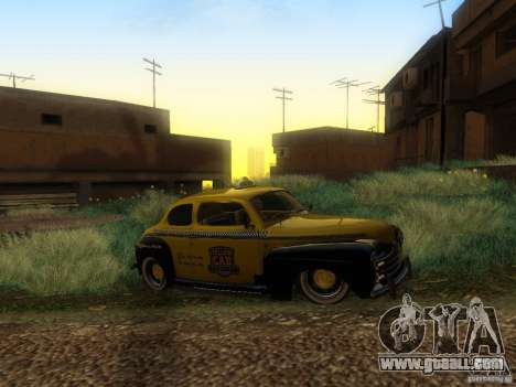 Ford Coupe 1946 Mild Custom for GTA San Andreas inner view