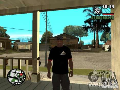 Rammstein t-shirt v3 for GTA San Andreas second screenshot