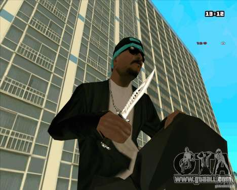 Chrome Weapon Pack for GTA San Andreas seventh screenshot