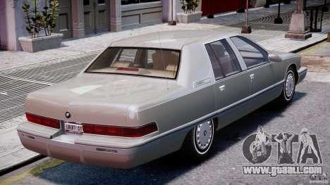 Buick Roadmaster Sedan 1996 v 2.0 for GTA 4 engine