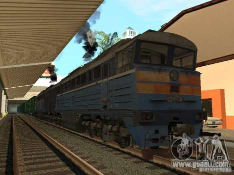 RAILROAD modification III for GTA San Andreas forth screenshot