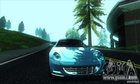 Ferrari 612 Scaglietti for GTA San Andreas inner view