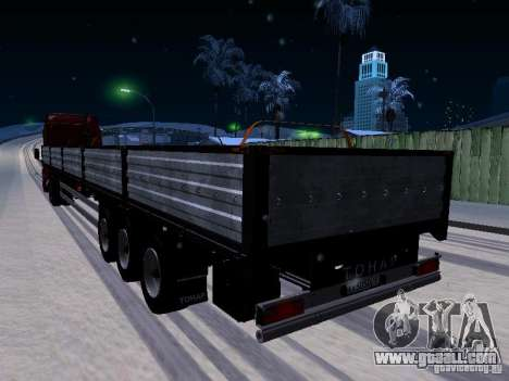Trailer Tonar for GTA San Andreas left view