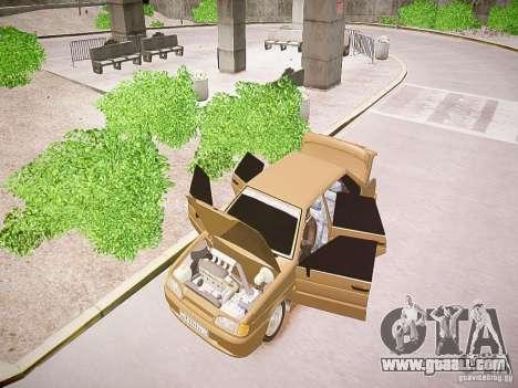 VAZ 2115 for GTA 4 back view
