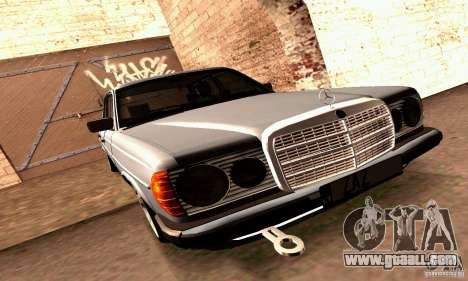 Mercedes Benz W123 for GTA San Andreas side view
