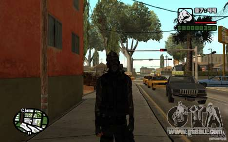 Blackwatch from Prototype for GTA San Andreas second screenshot