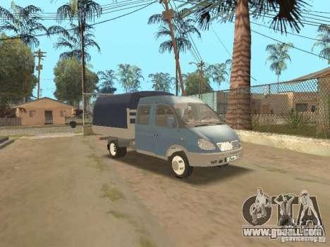 Gaz Gazelle 33023 Farmer for GTA San Andreas
