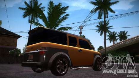 Honda Element LX for GTA San Andreas right view
