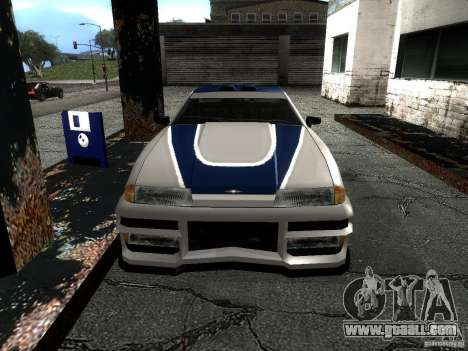 Vinyl with the BMW M3 GTR in Most Wanted for GTA San Andreas right view