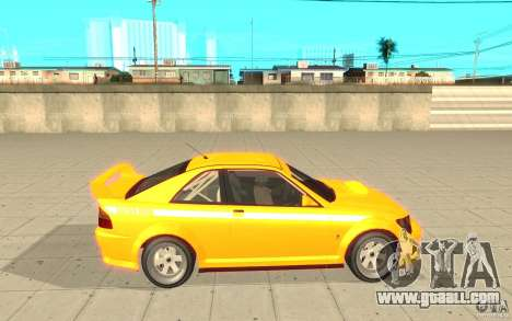 Sultan RS from GTA 4 for GTA San Andreas left view