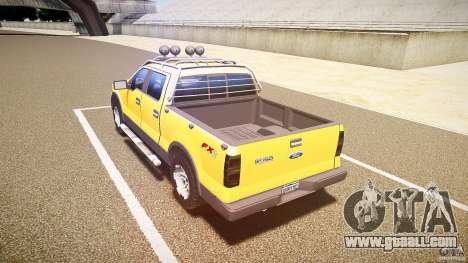 Ford F150 FX4 OffRoad v1.0 for GTA 4 back left view