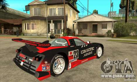 Nissan R390 GT1 1998 v1.0.0 for GTA San Andreas back view