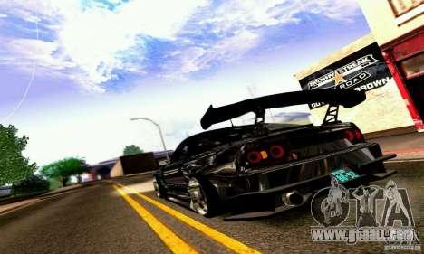 Nissan 180SX Gkon - Drift chrome for GTA San Andreas right view