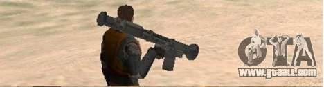 Half-Life weapon pack for GTA San Andreas third screenshot