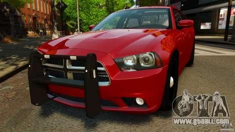 Dodge Charger RT Max FBI 2011 [ELS] for GTA 4