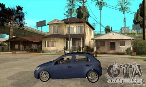 Volkswagen Gol Trend 1.6 for GTA San Andreas left view