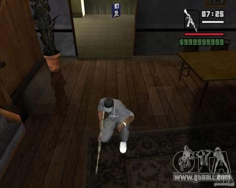 Kalash from METRO 2033 for GTA San Andreas second screenshot