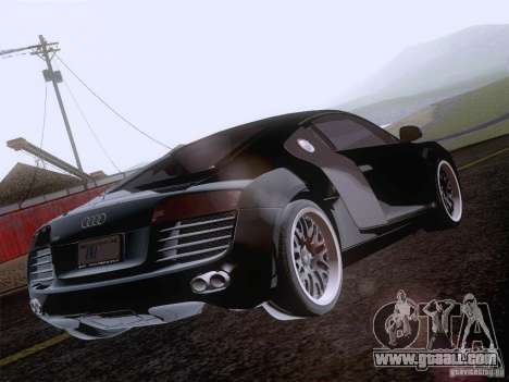 Audi R8 Hamann for GTA San Andreas wheels