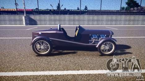 Vintage race car for GTA 4 inner view