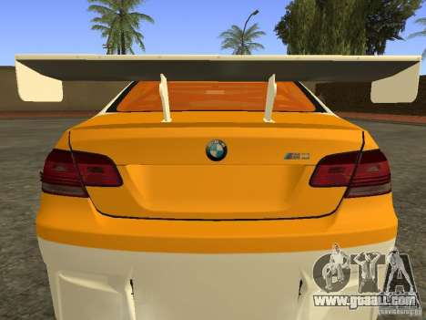 BMW M3 E92 DriftRoots for GTA San Andreas back left view