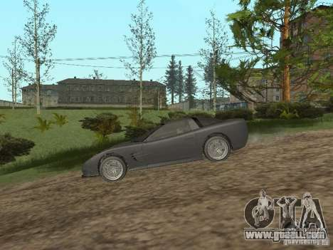 Cheetah from GTA 4 for GTA San Andreas back left view