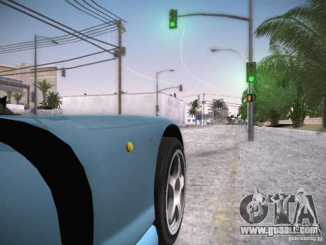 TVR Cerbera Speed 12 for GTA San Andreas back view