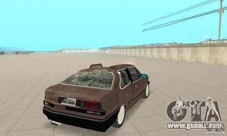 Volkswagen Santana GLS 1989 for GTA San Andreas upper view