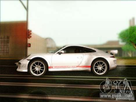 Porsche 911 Carrera S (991) Snowflake 2.0 for GTA San Andreas left view
