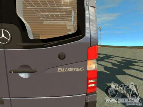Mercedes-Benz Sprinter 2500 for GTA 4 inner view