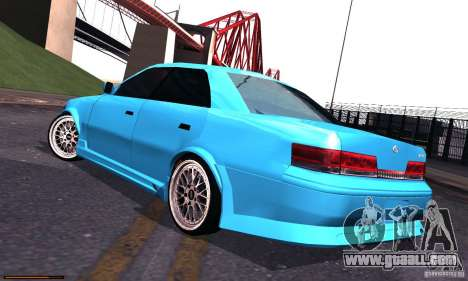 Toyota Mark II Tuning for GTA San Andreas left view