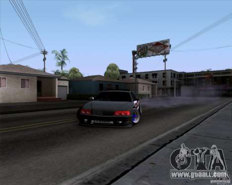 Toyota Chaser jzx100 Drift Police for GTA San Andreas right view