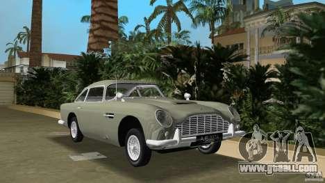 Aston Martin DB5 63-54 (JAMES BOND) for GTA Vice City