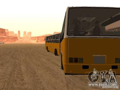 IKARUS 280.46 for GTA San Andreas back view