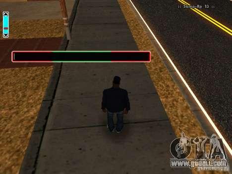 A new interface for SAMP for GTA San Andreas third screenshot