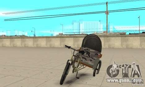 Manual Rickshaw v2 Skin1 for GTA San Andreas