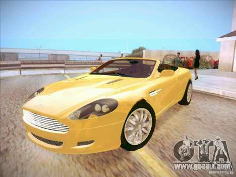 Aston Martin DB9 Volante v.1.0 for GTA San Andreas