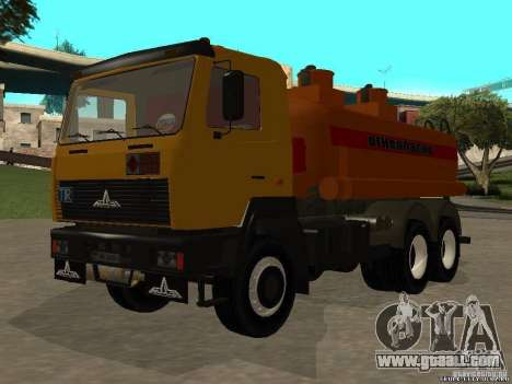 Super MAZ 5551 for GTA San Andreas right view