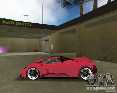 Pagani Zonda S for GTA Vice City