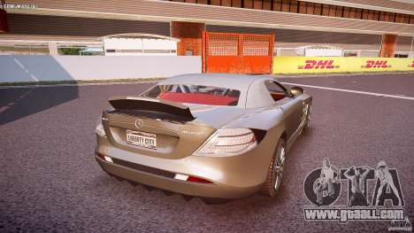 Mercedes Benz SLR McLaren 722s 2005 [EPM] for GTA 4 bottom view